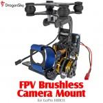 DragonSky (DS-FPV-CM-GOPRO3) FPV Brushless Camera Gimbal for GoPro HERO3