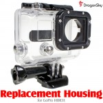 DragonSky (DS-HERO3-HOUSING) Replacement Housing for GoPro HERO3