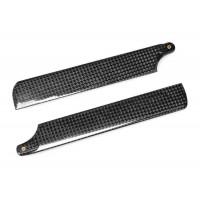 (DS-M-142C-02) Carbon Fiber Main Blades 142mm for Walkera 4G3