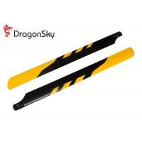 DragonSky (DS-M-430G-07) Glass Fiber Main Blades 430mm