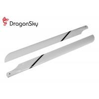 DragonSky (DS-M-600G-01) Glass Fiber Main Blades 600mm