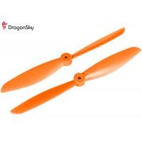 DragonSky (DS-P-1047-O) Multirotor 10*4.7 Clockwise and Counter Clockwise Propeller Set (Orange)