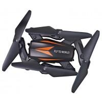 JJRC F12W foldable RC FPV Drone - 2.4G 4CH 6 Axis Gyro Headless Mode RC Quadcopter RTF - One-key Return