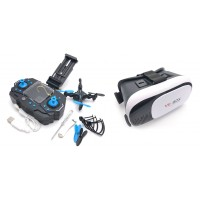HELIWAY 901S Drone +  VR 3D Headset BOX - ready to fly FPV COMBO