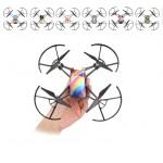 DJI / Ryze Tech Tello Accesssories Waterproof PVC Stickers Drone Body Skin Decals x 6pcs