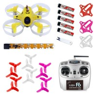 KINGKONG TINY6 RTF Ready to Fly Combo 65mm Micro FPV Quadcopter With 615 Brushed Motors Based on F3 Brush Flight Controller 800TVL