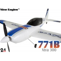 Nine Eagles (NE-R/C-771B-B) 4CH Xtra300 Airplane RTF (Blue) - 2.4GHz