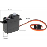 Power HD (HD-1160A) Mini / Micro Size High Torque Analog Servo 16G 2.7KG 0.12sec