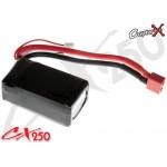 CopterX (CX250-10-05) Li-Polymer Battery 11.1V 15C 850mAh