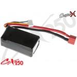 CopterX (CX250-10-06) Li-Polymer Battery 11.1V 25C 850mAh