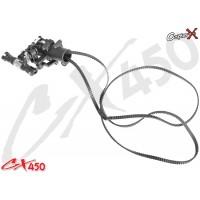 CopterX (CX450-02-10) Plastic Tail Rotor Set