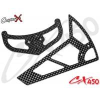 CopterX (CX450-06-03) Carbon Stabilizer Set
