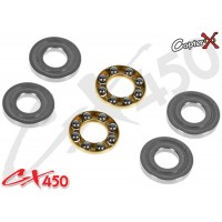 CopterX (CX450-09-08) Thrust Bearings 3x8x3.5mm