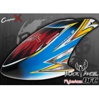 CopterX (CX450BA-07-16) Black Angel DFC Prepainted Glass Fiber Canopy