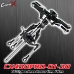 CopterX (CX450PRO-01-30) V4 Flybarless Rotor Head Set