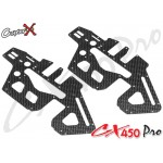 CopterX (CX450PRO-03-03) Carbon Fiber Upper Side Frame