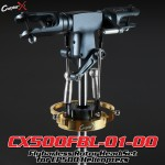 CopterX (CX500FBL-01-00) Flybarless Rotor Head Set for EP500 Helicopters