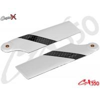 CopterX (CX550BA-06-01) Carbon Fiber Tail Blades