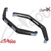 CopterX (CX600BA-04-01) Carbon Fiber Landing Skid