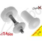CopterX (CX600BA-05-09) Torque Tube Front Drive Gear Set 40T