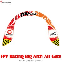 DragonSky (DS-FPV-GATE-ARCH-RHYTHM) FPV Racing Big Arch Air Gate (260cm, rhythm pattern)