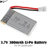 HUBSAN (HS-H107-A24) 3.7V 380mAh Li-Po Battery
