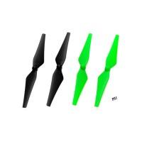Nine Eagles (NE401038) Propeller Set (Black, Green)
