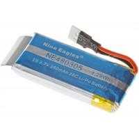 Nine Eagles (NE480305) 1S 3.7V 350mAh 25C Li-Po Battery