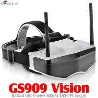 Boscam GS909 3D Video FPV Goggles 5.8G 32CH Glasses ONLY - without Canmera & transmitter