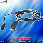 CopterX (CX-S02) 6-Channel 3D Flight USB RC Flight Simulator Cable