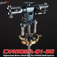 CopterX (CX450BA-01-50) Flybarless Rotor Head Set for EP450 Helicopters