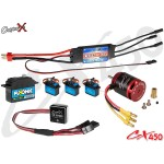 CopterX (CX450EPP-V2) 450 Flybar Electronic Parts Package V2