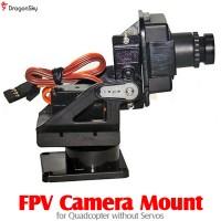 DragonSky (DS-FPV-CM-QUAD) FPV Camera Mount for Quadcopter without Servos
