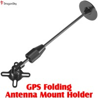 DragonSky (DS-GPS-HOLDER-BK) GPS Folding Antenna Mount Holder (Black)