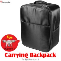 DragonSky (DS-P3-BP-BK) Carrying Back Pack for DJI Phantom 3 (Black)