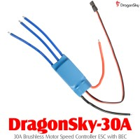 DragonSky (DragonSky-30A) 30A Brushless Motor Speed Controller ESC with BEC