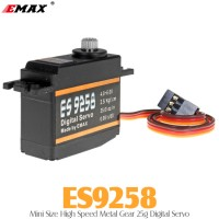 EMAX (ES9258) Mini Size High Speed Metal Gear 25g Digital Servo 2.5KG 0.08sec