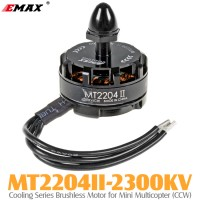 EMAX (MT2204II-2300KV) Cooling Series Brushless Motor for Mini Multicopter (CCW)