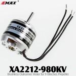 EMAX (XA2212-980KV) Brushless Outrunner Motor for 9-10inches Propeller