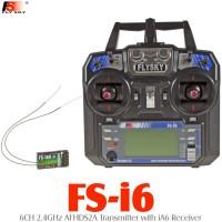 FLYSKY (FS-I6-IA6) 6CH 2.4GHz AFHDS2A Transmitter with iA6 Receiver