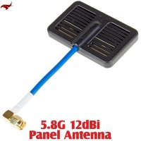 HAWK-EYE Aerial Video Technology (HEAVT-5.8G-12DBI) 5.8G 12dBi Panel Antenna