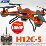JJRC H12C Headless Quadcopter with 1080P Camera (Orange)