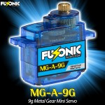 Fusonic (MG-A-9G) 9g Metal Gear Mini Servo
