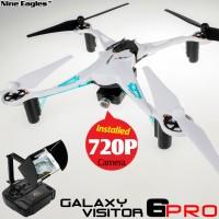 Nine Eagles Galaxy Visitor 6 Pro 4CH FPV Quadcopter (White, Mode 2)
