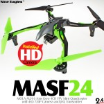 Nine Eagles MOLA M24 FPV Mini Quadcopter RTF (Green, Mode 1)