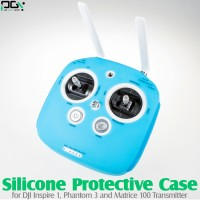 PGY (PGY-INSPIRE1-P3-TX-SPC-B) Silicone Protective Case for DJI Inspire 1, Phantom 3 and Matrice 100 Transmitter (Blue)