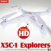 SYMA X5C-1 Explorers Quadcopter with HD 720P Camera (Mode 2)