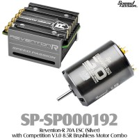 Speed Passion (SP-SP000192) Reventon-R 70A ESC (Silver) with Competition V3.0 8.5R Brushless Motor Combo
