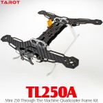 TAROT (TL250A) Mini 250 Through The Machine Quadcopter Frame Kit