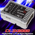 CopterX (CX-3X2000) Flybarless 3 Axis Gyro System
